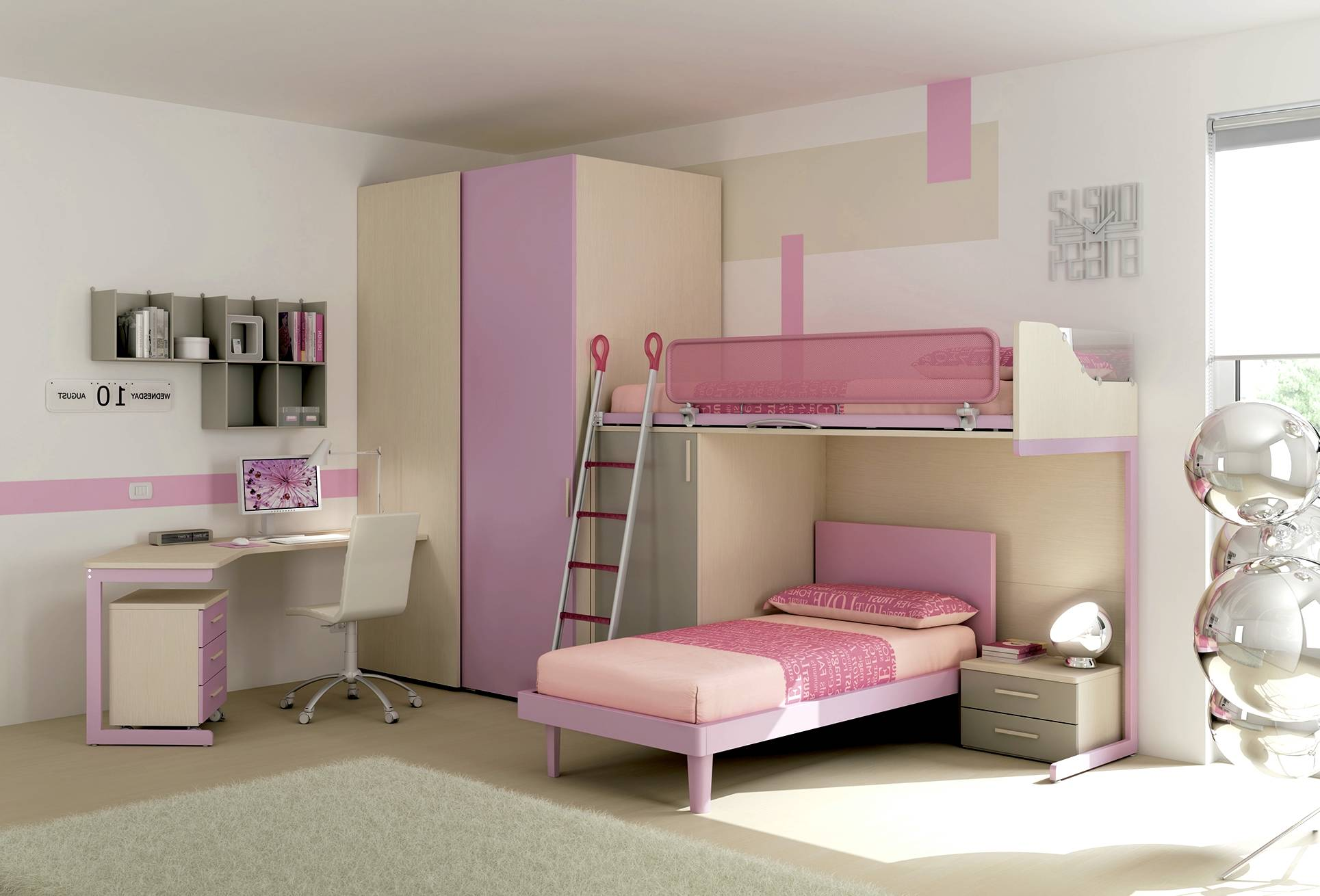 id es de d co pour une chambre d 39 enfant habitat magazine. Black Bedroom Furniture Sets. Home Design Ideas