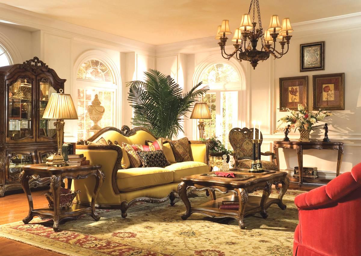 le style baroque d'un salon