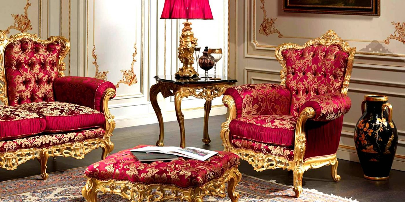 le salon baroque et si versailles s invitait dans votre salon habitat magazine. Black Bedroom Furniture Sets. Home Design Ideas